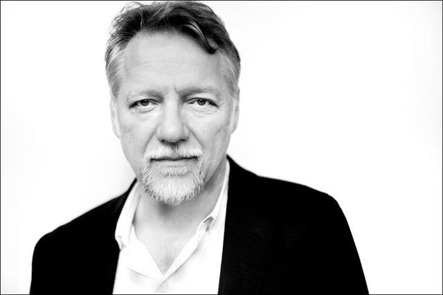 Edward Burtynsky at his hotel during the Berlinale