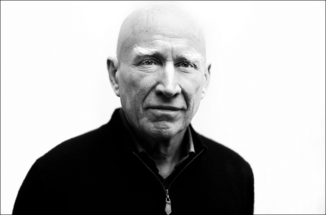 Sebastião Salgado at the opening of Genesis at C/O gallery Berlin